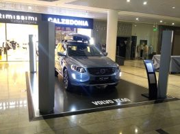 In the Ocean Plaza, the new Volvo XC60!