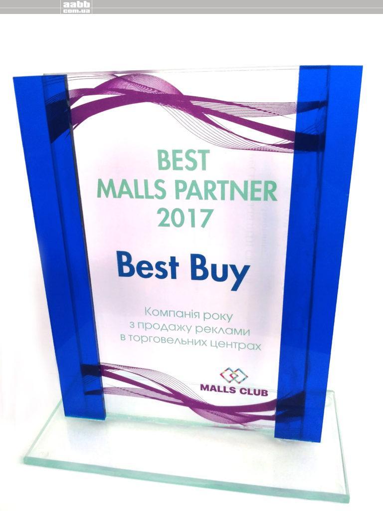Компанія року з продажу реклами в торгових центрах 2017
