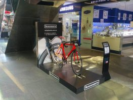 Bicycle Exposition of Veloplaneta Company at Passage shopping center