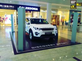 Exhibit of Land Rover Discovery Sport
