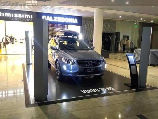 Exhibit of VolvoXC60 car in sm. Ocean Plaza!