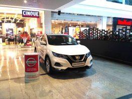Exhibiting NISSANQASHQAI car at Ocean Plaza shopping center!