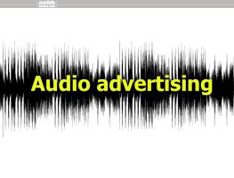 Audio advertising