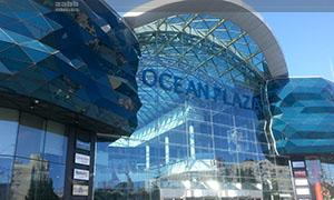 Advertising in the shopping center «Ocean Plaza»