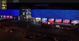 Advertising in the Ocean Plaza shopping center