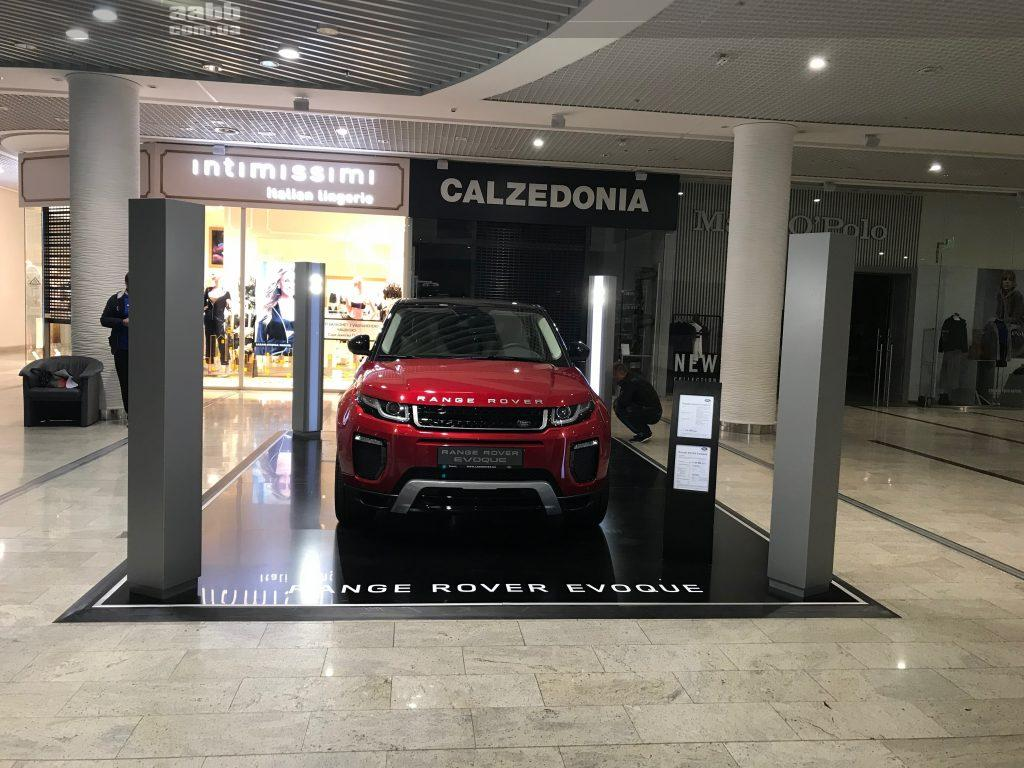 Advertising in the mall Ocean Plaza (October 2018)