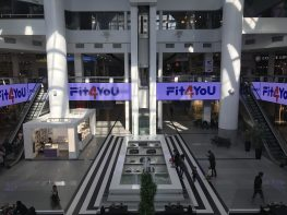 Реклама на видеоэкране ТРЦ Мост-сити (октябрь 2018)