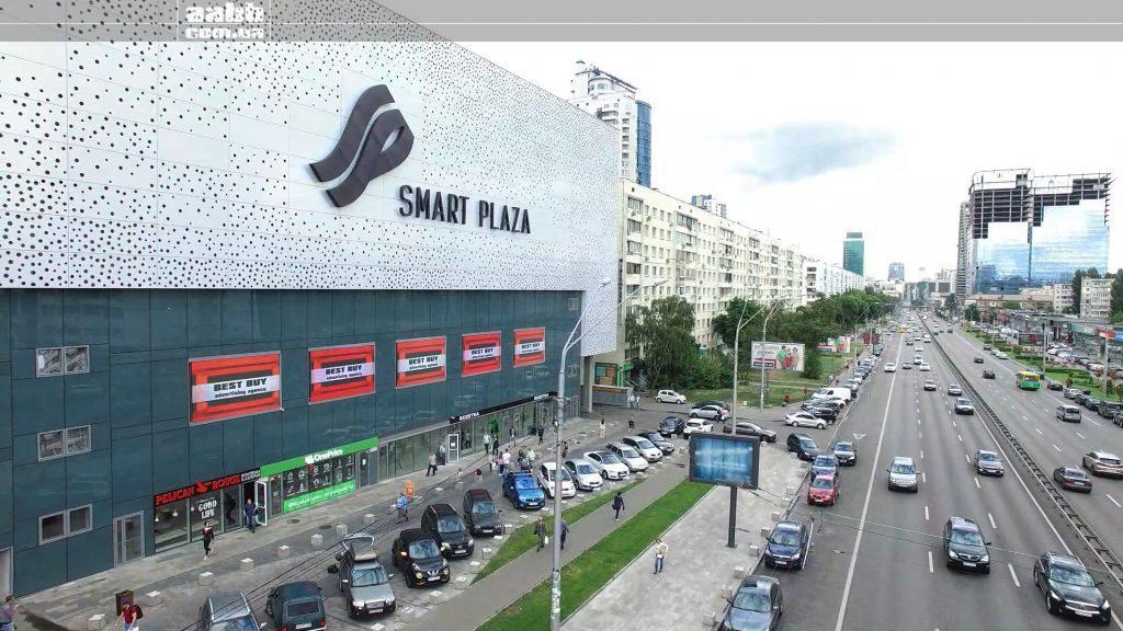 Реклама в ТРЦ Smart Plaza Polytech