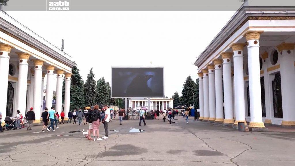"""Анонс фільму """"Чорний ворон"""" на ВДНГ"""