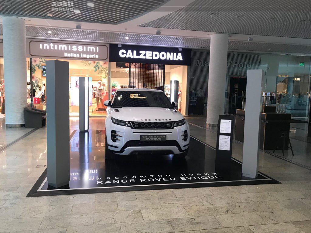 Експонування авто Range Rover Evoque в ТРЦ Ocean Plaza (травень 2019)