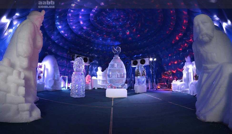 VDNG Ice Sculpture Castle 2019
