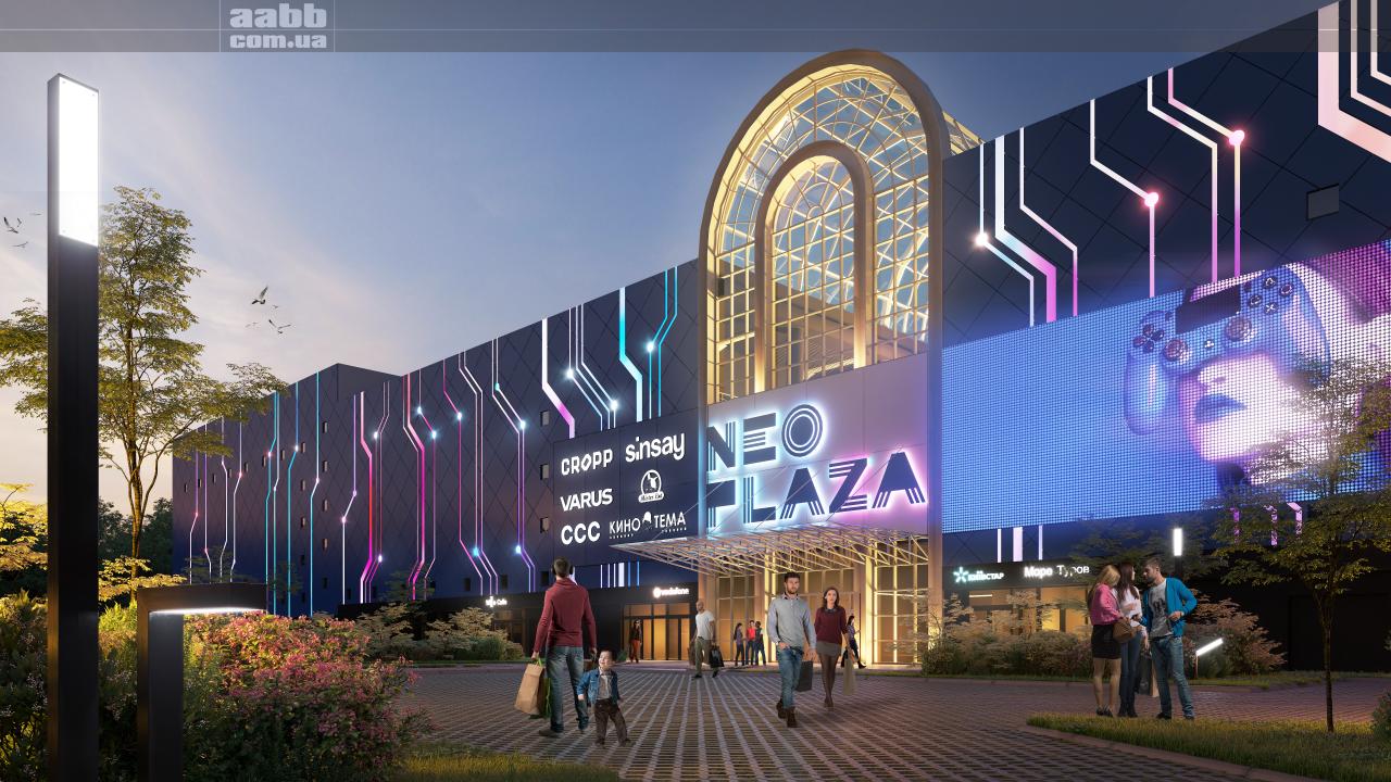 Реклама в ТРЦ Neo Plaza (м. Дніпро)