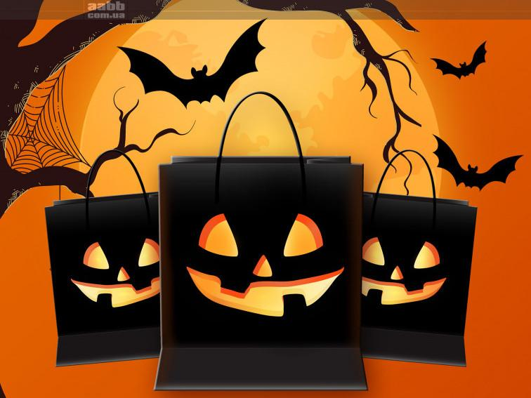 Реклама в ТРЦ на Halloween!