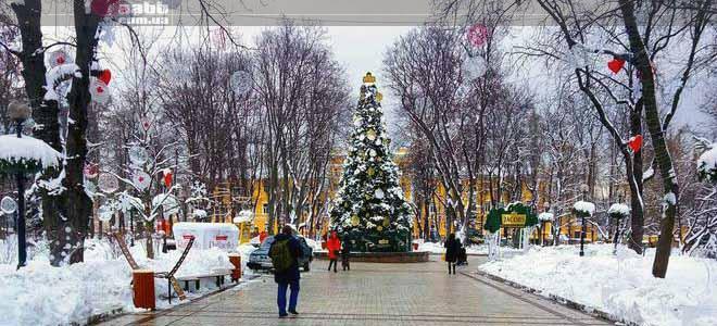 Advertising in Shevchenko Park 2019