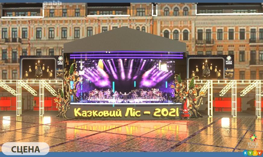Реклама на відеоекранах на Софійські площі