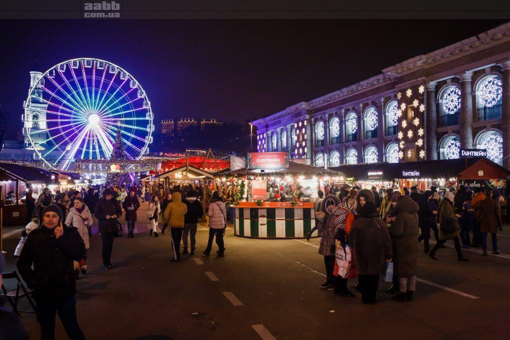 Святкування Нового року на Контрактовій площі
