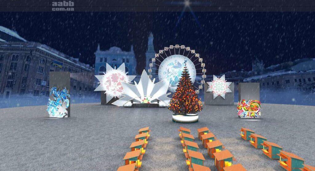 Новий рік на Контрактовій площі