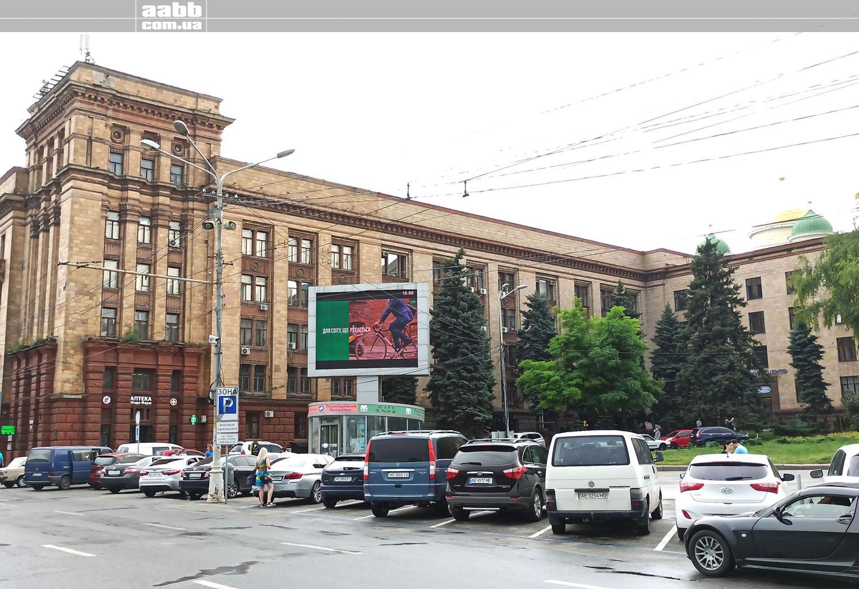 Реклама на відеоекранах у м. Дніпро (червень 2020)
