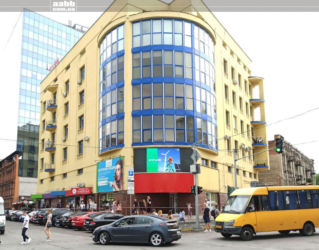 Реклама на відеоекрані у м. Дніпро
